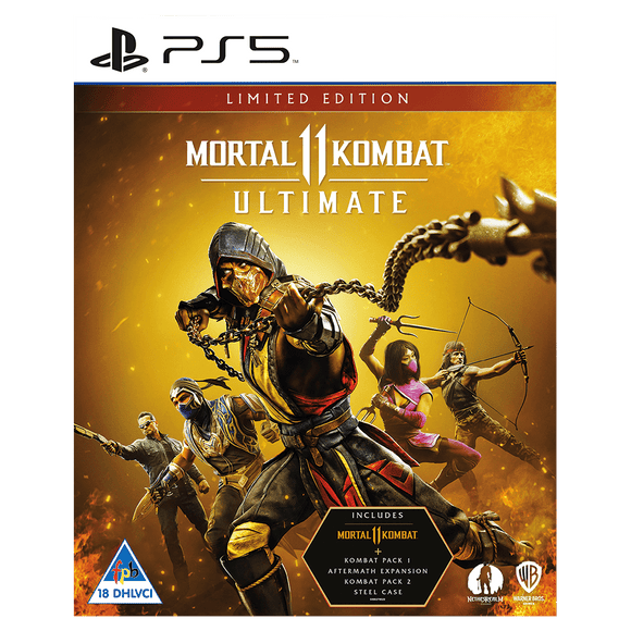 Mortal Kombat 11 Ultimate Steelbook (PS5) - KOODOO