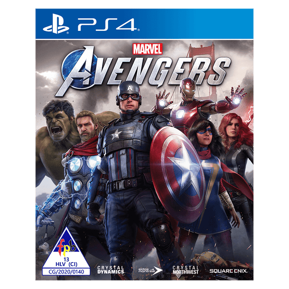 Marvel Avengers Standard Edition (PS4) - KOODOO