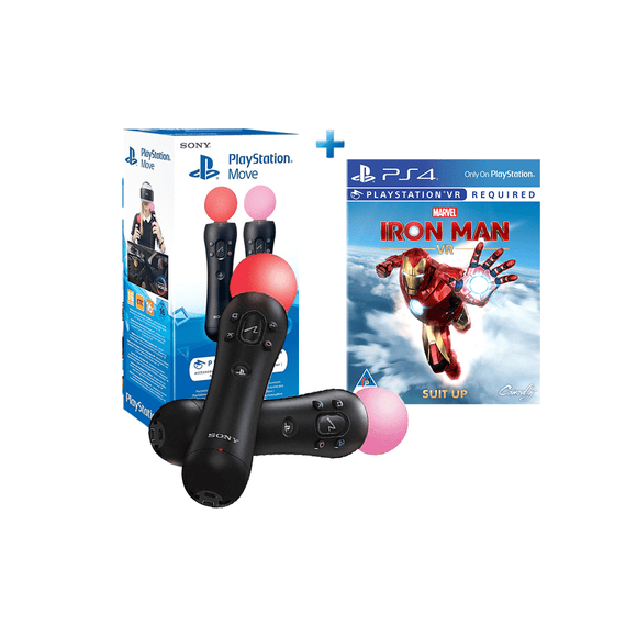 Marvel's Iron Man (PSVR)+ PS Move Twin Pack - KOODOO