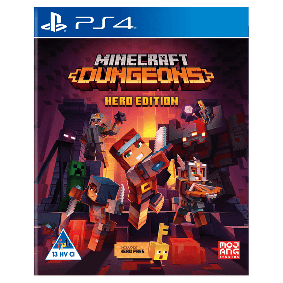 Minecraft Dungeons - Hero Edition (PS4) - KOODOO