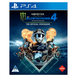 Monster Energy Supercross – The Official Videogame 4  (PS4) - KOODOO