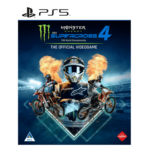 Monster Energy Supercross – The Official Videogame 4 (PS5) - KOODOO