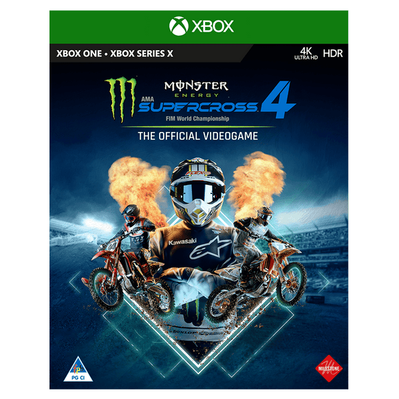 Monster Energy Supercross – The Official Videogame 4 (XB1) - KOODOO