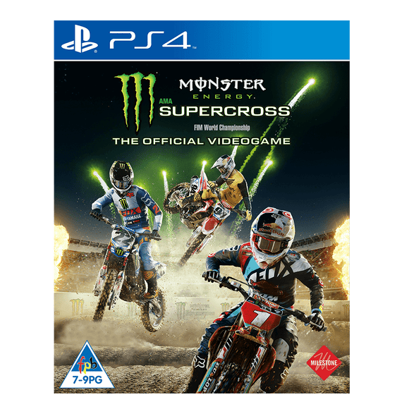 Monster Energy Supercross The Official Video Game (PS4) - KOODOO