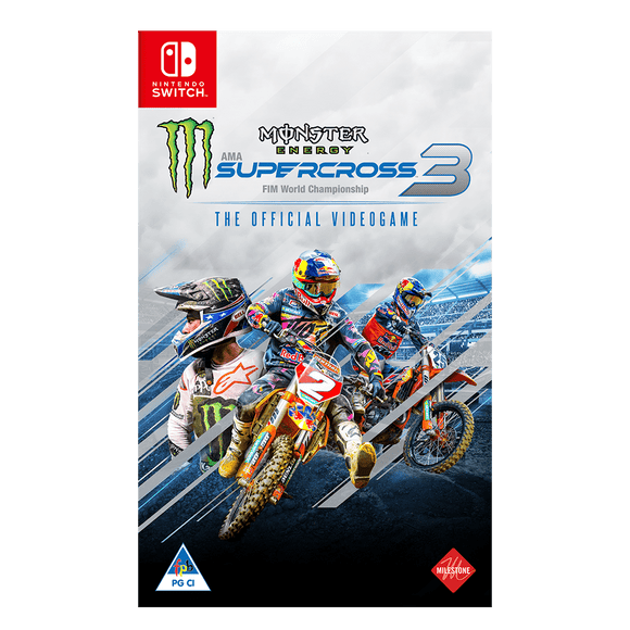 Monster Energy Supercross: The Official Videogame 3 (NS) - KOODOO