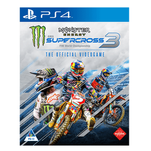 Monster Energy Supercross: The Official Videogame 3 (PS4) - KOODOO