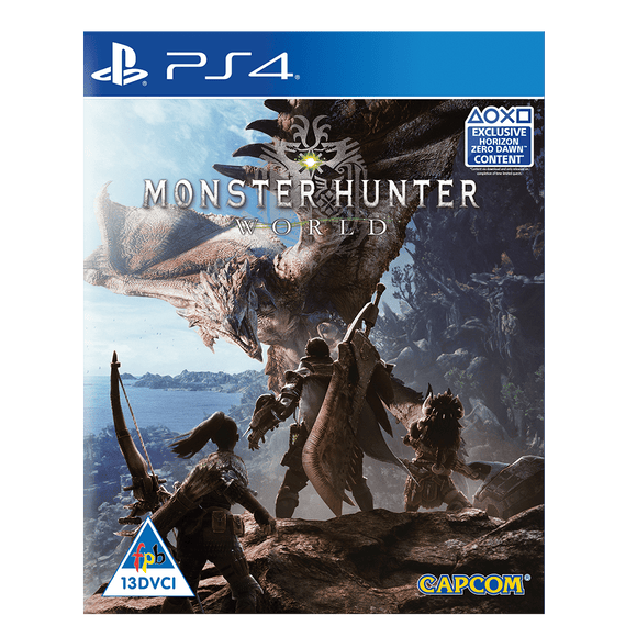 Monster Hunter Worlds (PS4) - KOODOO