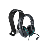 Nacon GH 110 Stereo Headset + Multiformat Gaming Headset Stand - Black - KOODOO