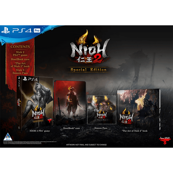 Nioh 2 Special Edition (PS4) - KOODOO