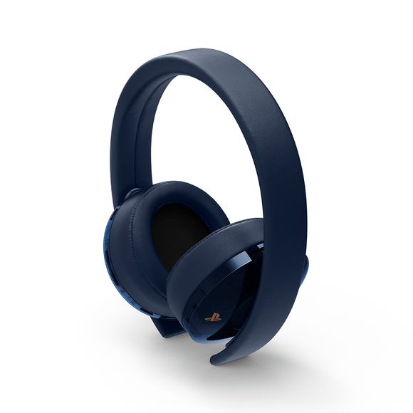 PS4 Gold/Navy 500M Limited Edtion Headset - KOODOO