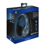 PS4 Stereo Gaming Headset - Midnight Camo Edition - KOODOO