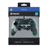 PS4 Nacon Wired Compact Controller - Camo Green - KOODOO