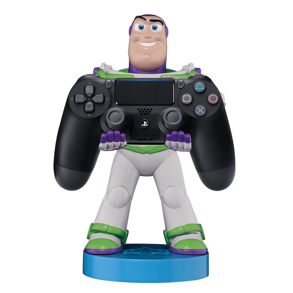 PS4 DS4 Black + Cable Guy: Buzz Lightyear   - KOODOO