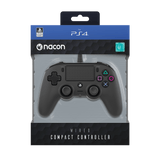 PS4 Nacon Wired Controller Black - KOODOO