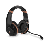 PS4 Rose Gold Edition Stereo Gaming Headset - Black - KOODOO