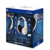 PS4 Rose Gold Edition Stereo Gaming Headset - White - KOODOO