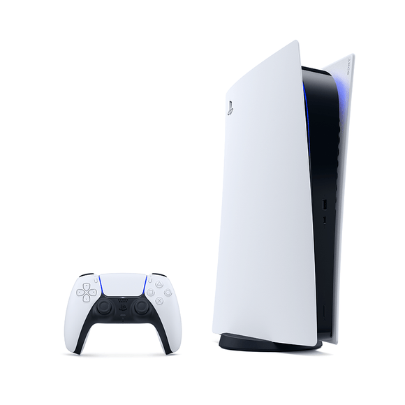 PS5 1TB - Glacier White (Digital Edition) - KOODOO
