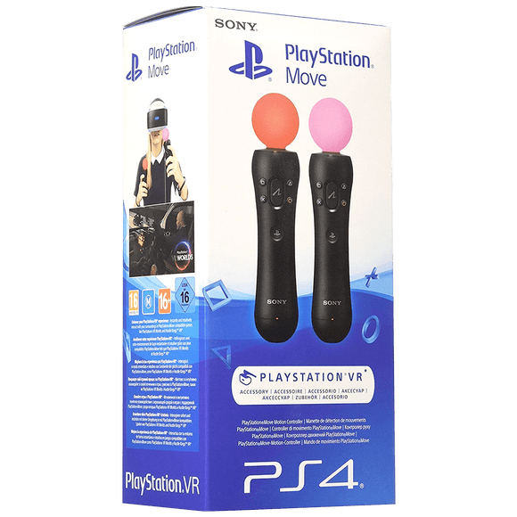 PS4 Move Motion Controller Twin Pack (PS4/PSVR) - KOODOO