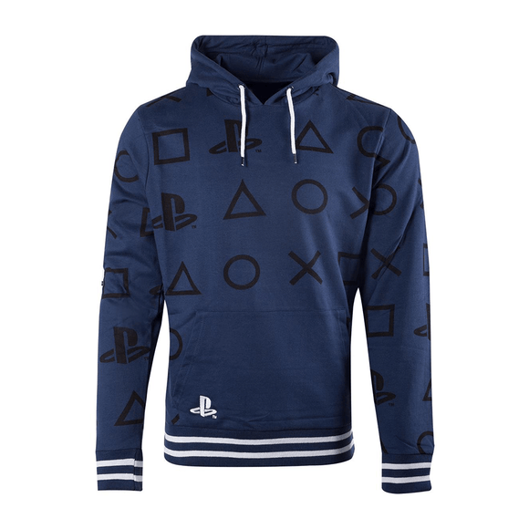 PlayStation - AOP Icons Men's Hoodie - KOODOO