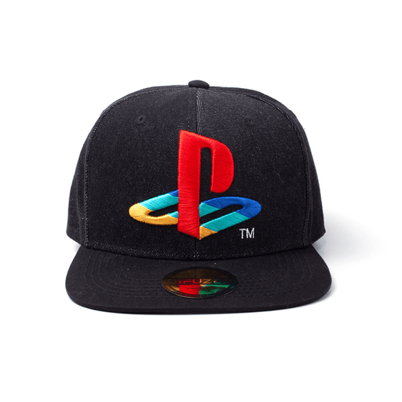 PlayStation - Logo Denim Snapback Cap - KOODOO