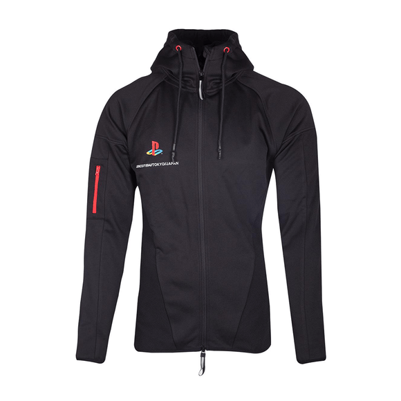 PlayStation - Tech19 Men's Zipper Hoodie - KOODOO