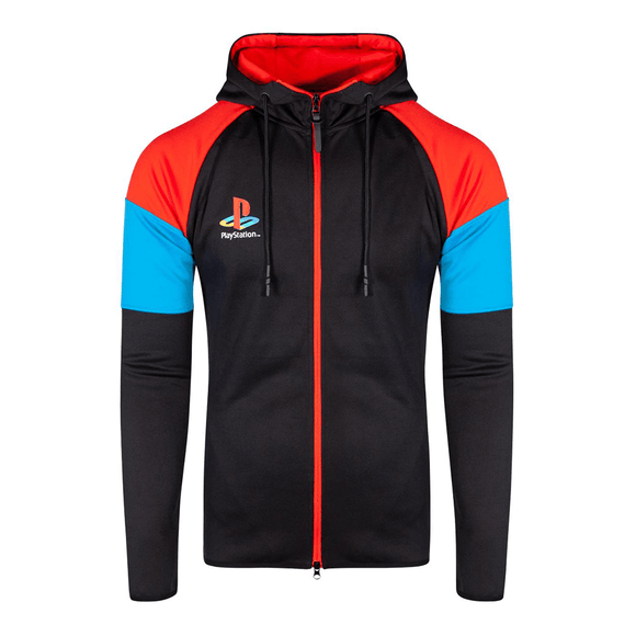 PlayStation - Color Zipper Men's Hoodie - KOODOO