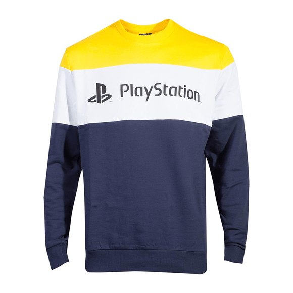 PlayStation - Colour Block Men's Sweater - KOODOO