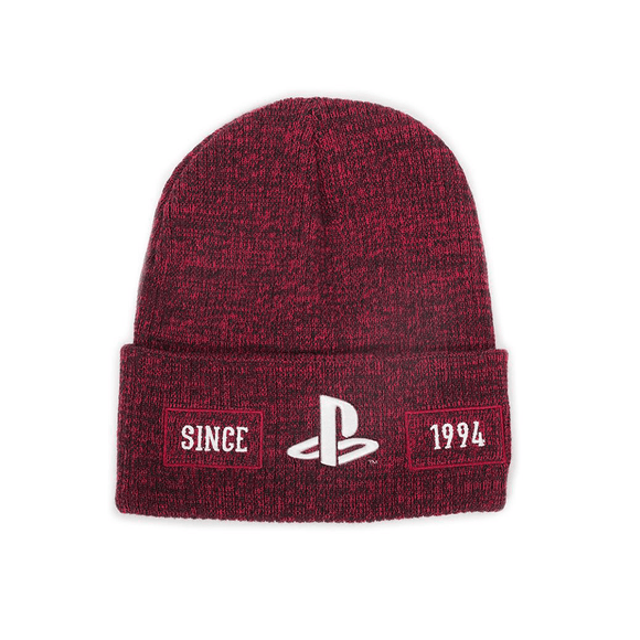 Sony - PlayStation - Biker Roll-Up Beanie - KOODOO