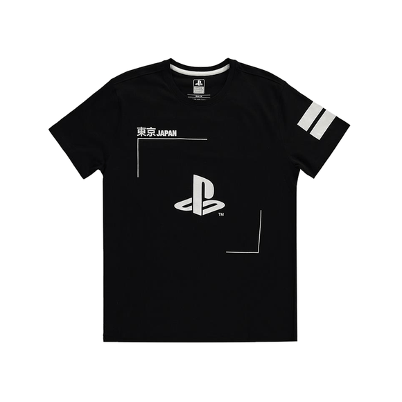 Sony - PlayStation - Black & White Logo - T-shirt - KOODOO