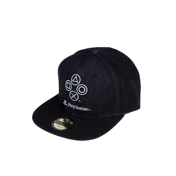 Sony - PlayStation - Denim Symbols Snapback - KOODOO