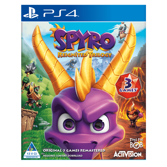 Spyro Reignited Trilogy (PS4) - KOODOO