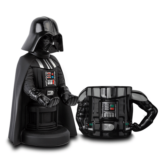 Star Wars Darth Vader Cable Guy + 3D Mug - KOODOO