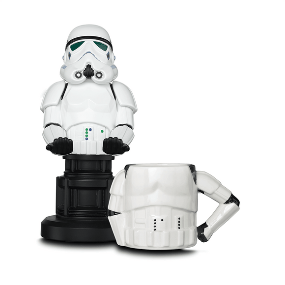 Star Wars Stormtrooper Cable Guy + 3D Mug - KOODOO