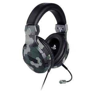 Stereo Gaming Headset For PS4 - Camo Green - KOODOO