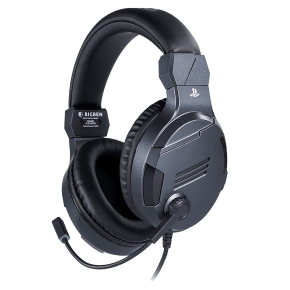 Stereo Gaming Headset For PS4 - Titanium - KOODOO