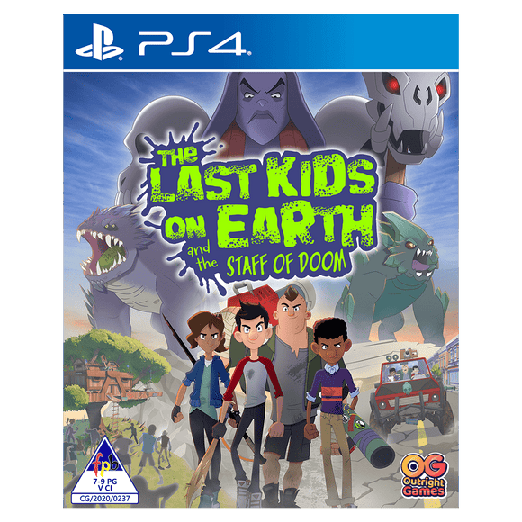 The Last Kids On Earth And The Staff Of Doom (PS4) - KOODOO