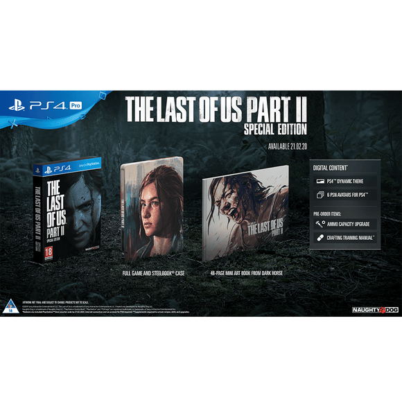 The Last Of Us Part 2 Special Edition (PS4) - KOODOO