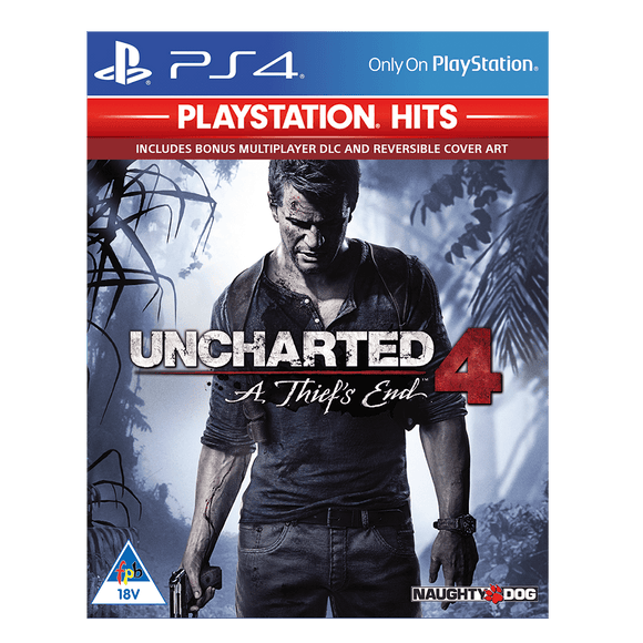 Uncharted 4: A Thiefs End (PS4 Hits) - KOODOO