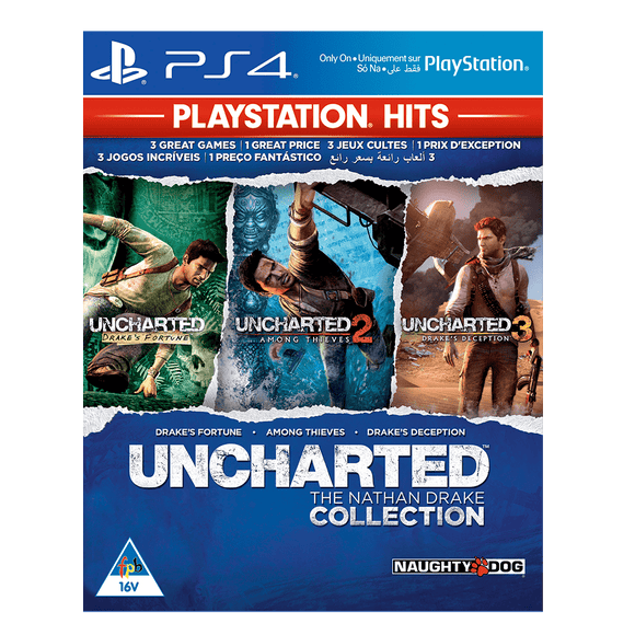 Uncharted Nathan Drake Collection (PS4 Hits) - KOODOO