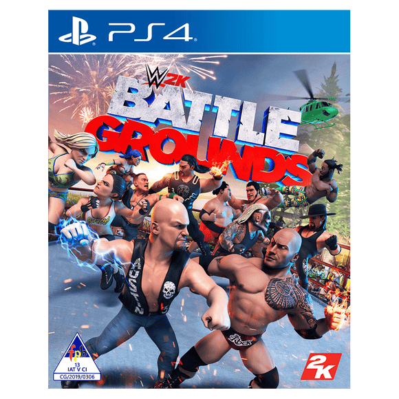 WWE Battlegrounds (PS4) - KOODOO