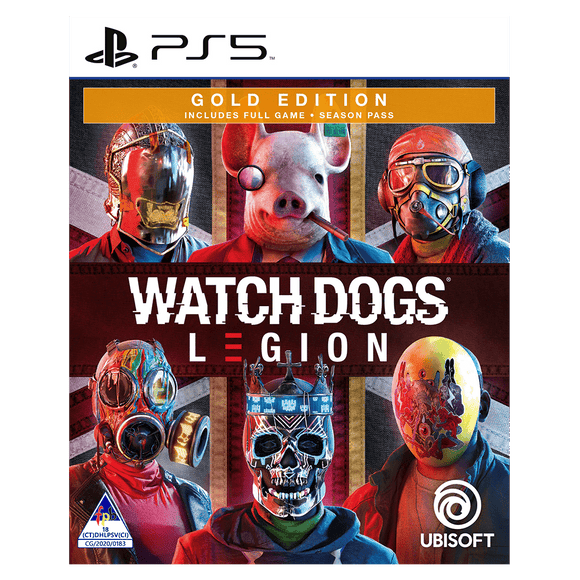 Watch Dogs Legion Gold Edition (PS5) - KOODOO