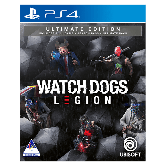 Watch Dogs Legion Ultimate Edition (PS4) - KOODOO