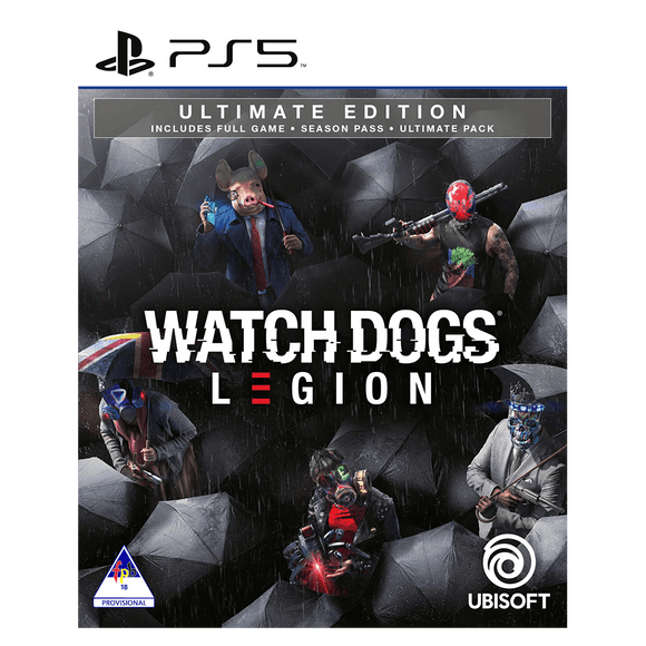 Watch Dogs Legion Ultimate Edition (PS5) - KOODOO