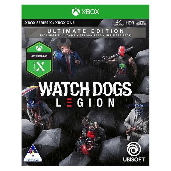 Watch Dogs Legion Ultimate Edition (XB1) - KOODOO