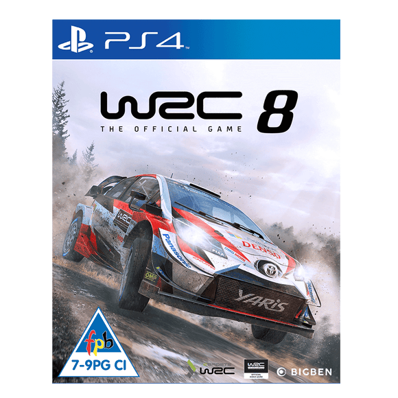 World Rally Championship 8 (PS4) - KOODOO