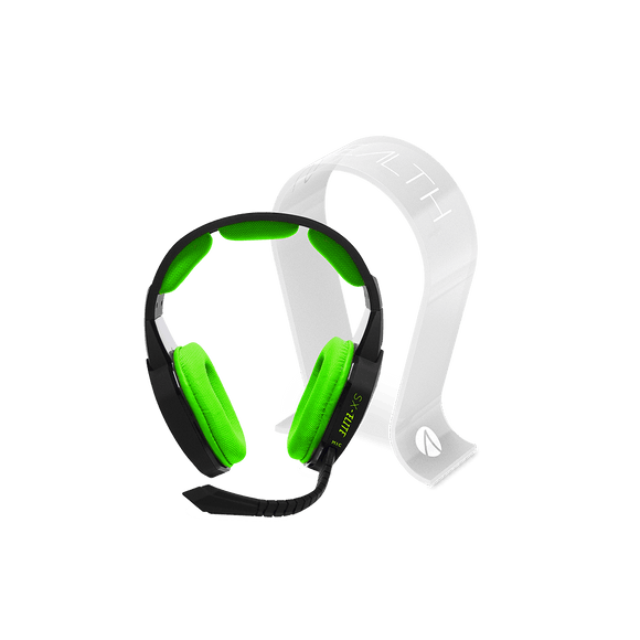 Xbox One Stereo Gaming Headset + Multiformat Gaming Headset Stand - Frosted - KOODOO