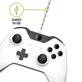 Xbox Twin Charging Dock with Play & Charge Cable - White - KOODOO