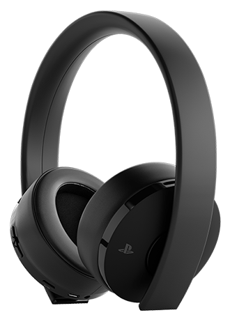 PS4 Wireless Headset Black Gold (PS4/PC/MAC/PSVR) - KOODOO