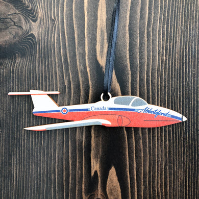 Abbotsford Fighter Jet Ornament