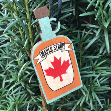 Maple Syrup Ornament